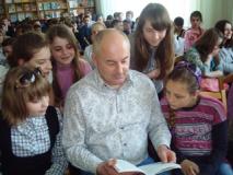 Валерий Квилория встретился с юными читателями Слуцка