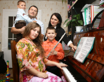 Семья Лиминых: братишка, сестрёнка и я – музыкальная семья