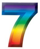 Волшебная арифметика. Семь цветов радуги