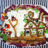 Готовим блюда в стиле Angry Birds вместе с младшеклассником