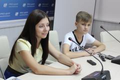"""За кого бы проголосовал сам победитель Национального отбора на детское """"Евровидение""""? Разговариваем по душам с Сашей Минёнком"""