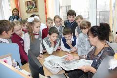 """В гости к """"Зорьке"""" заглянули четвероклассники из минской школы № 19"""