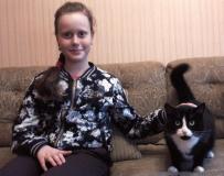 Котёнок, который сам себе выбрал хозяйку
