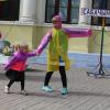 Прямо на перроне Детской железной дороги показали спектакль
