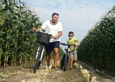 Юный велосипедист проехал за год больше 4 тысяч километров!