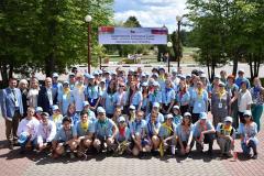 Юные экологи из Беларуси и России встретились в Березинском заповеднике
