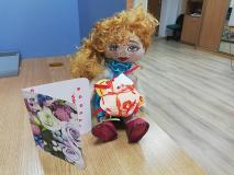 Что Зорюшка получила в подарок на День Святого Валентина?