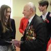 #Беларусьпомнит: душевная встреча с ветеранами прошла в столичной гимназии № 7