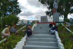 """""""Волонтёры лета"""" из Малоберестовицкой школы"""