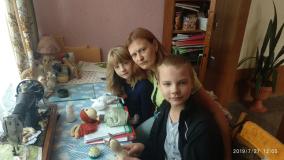 Рукодельники из Жуховичского дома культуры