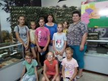 Пазнавальнае лета вучняў Паляцкішскай школы