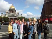 Старшеклассники новогрудской школы № 7 советуют, что посмотреть в Санкт-Петербурге
