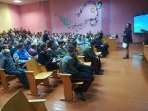 """Ток-шоу """"Беларусь – спортивная страна"""" в новогрудской школе № 7"""