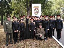 Воспитанники кадетских классов познакомились с бойцами спецназа
