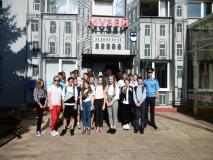 Воспитанники столичной школы № 22 посетили музей МТЗ