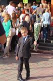 Репортаж с первого звонка минской школы-новостройки