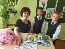 """""""Первый раз в 1-й класс!"""" в Макаровском УПК ясли-сад–средняя школа"""