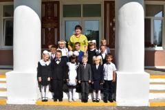 Выхаваўцы 1-га класа Удзелаўскага дзіцячага сада–сярэдняй школы Глыбоцкага района