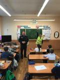 Урок безопасности в столичной гимназии № 5