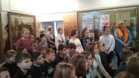 Воспитанники новогрудской школы № 7 отправились в гости к ученикам брестской школы № 13
