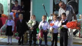 Первоклассники Дербичского детского сада–средней школы