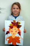 Портрет любимой мамы от Кати Межевич