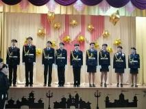 Посвящение в кадеты в новогрудской школе № 7
