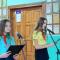 Торжественный сбор, посвящённый приёму в пионеры, прошёл в борисовской школе № 3