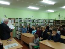 Творческая встреча с Сергеем Адамовичем Кулакевичем в Вересницкой школе