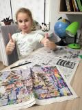 """Поздравительный комплимент """"Зорюшки"""" от Ани Севко"""