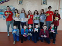 """Благотворительная акция """"Поможем братьям нашим меньшим"""" в могилёвской школе № 11"""