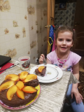 Аппетитная история о тортике от юного кулинара Кати Воробьёвой