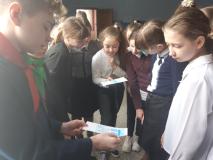 """По """"Пионерским маршрутам"""" в новогрудской школе № 7"""