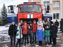 Неделя безопасности в Новкинской школе