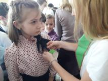 Праздник для октябрят в новогрудской школе № 5