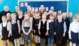 Смотр-конкурс пионерских отрядов и октябрятских групп в Ходосовской школе