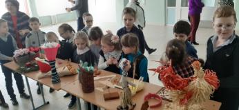 Неделя трудового обучения и искусства прошла в чериковской школе № 2
