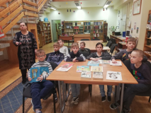 Очень любят читать в лидской школе № 9