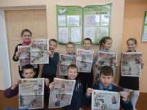 Стихотворное поздравление от учеников из Засковичского УПК детский сад–базовая школа
