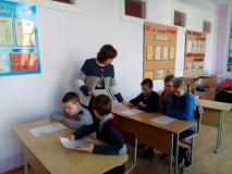 Урок мужнасці ў Вензавецкім дзіцячым садзе–сярэдняй школе