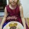 Тортик с кукляшей в приготовлении Саши Кулягиной