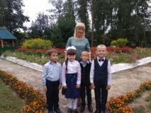 1-й класс Осовской средней школы