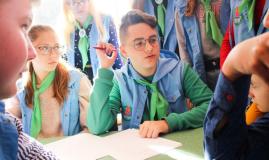 В «Зубренке» завершился XVI республиканский фестиваль детских средств массовой информации «Свежий ветер»