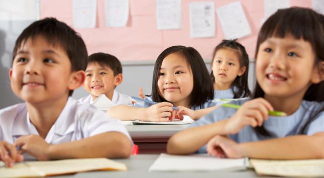 школьники Китая