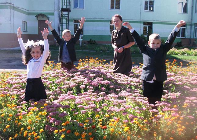 Первоклассники из Яковчицкой школы Жабинского района