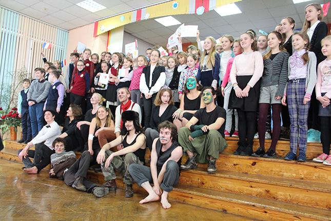 ученики школы № 35