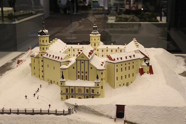 Макет Несвижского замка