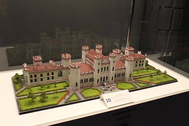 макет замка в Коссово