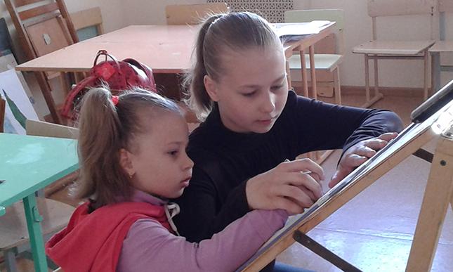 Саша и Диана Матусевич