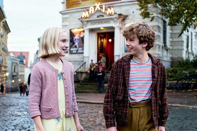 Юный актёр из Германии пообщался с белорусскими школьниками
